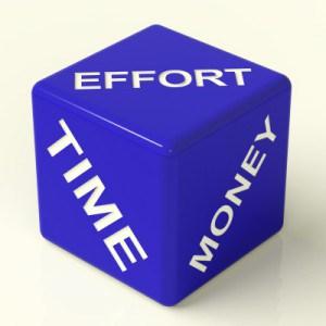 Time, Effort & Money