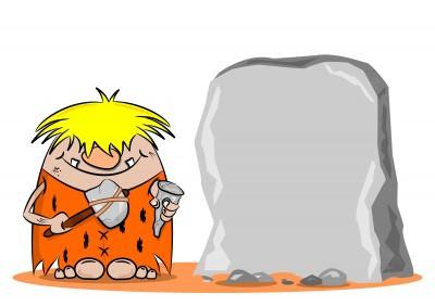 The caveman days