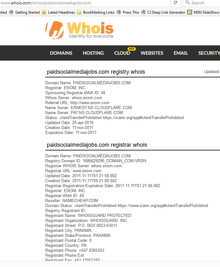 Whois Screenshot 752