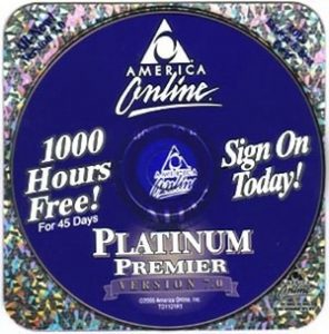 Free AOL CD-Rom Disc - Sign On Today!
