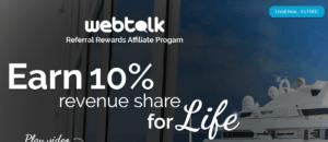 WebTalk Revenue Share Affiliate Marketing Program